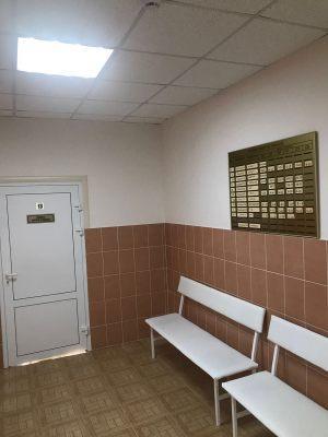 Капитальный ремонт Детской консультации в Солнечнодольске